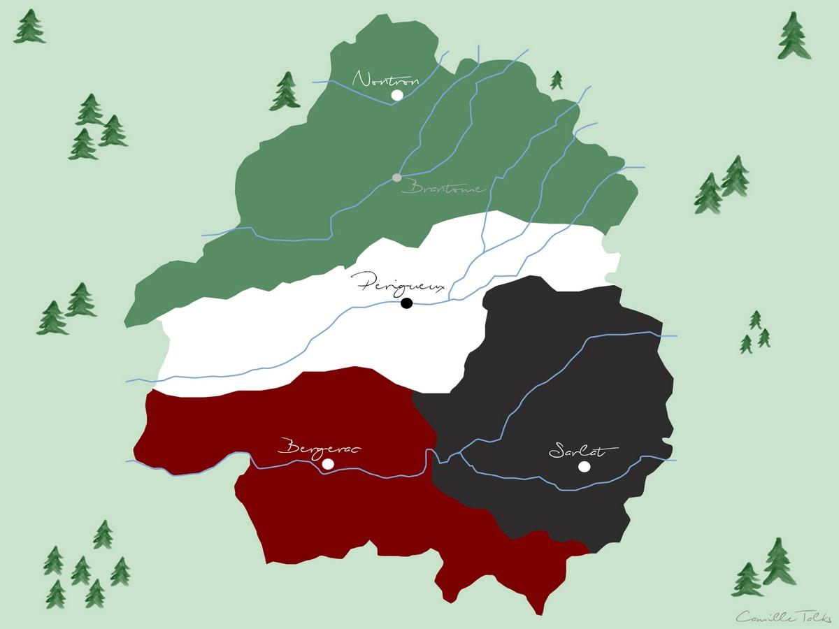 Carte Périgord