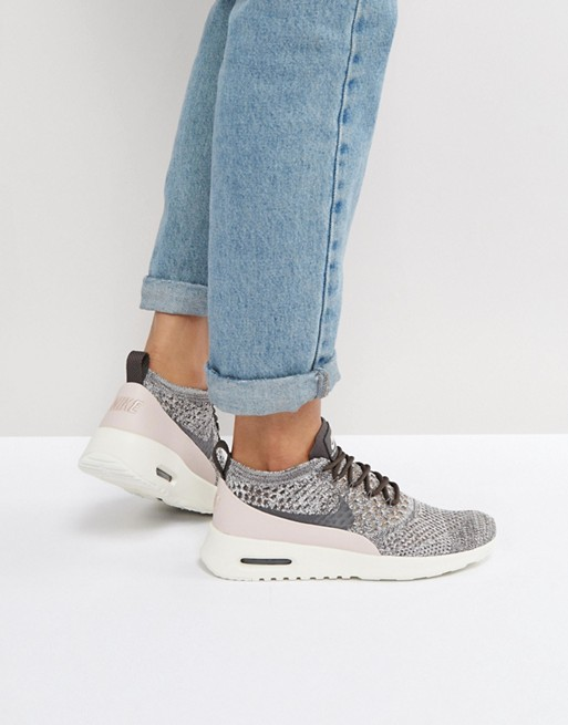 the best attitude c724d 4b31f Image 1 sur Nike - Air Max Thea Ultra Flyknit - Baskets - Gris